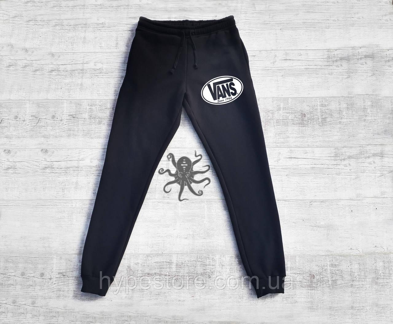Спортивные штаны на флисе, чоловічі штани Vans, Реплика