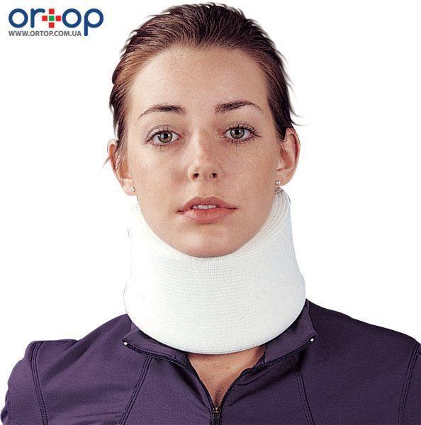 Ортопедический воротник для шеи умеренной фиксации для взрослых, высота 8 см, S
