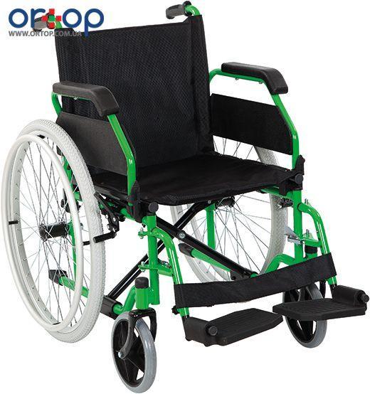 Инвалидная коляска металлическая, регулируемая Heaco Golfi-7