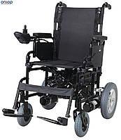 Инвалидная коляска металлическая, с двигателем, складная Heaco JT-100, фото 1