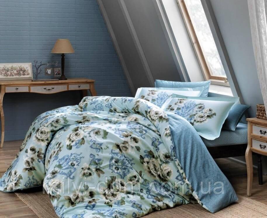 Набор постельного белья TAC Barock сатин диджитал Digital (евро)