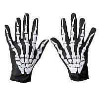 Перчатки Скелет, Унисекс, фото 1