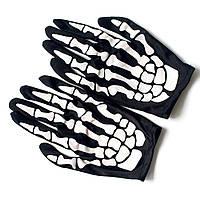 Перчатки Скелет 1, Унисекс, фото 1