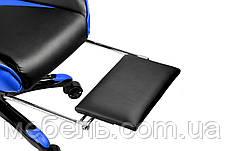Детское компьютерное кресло Barsky BGM-05 черно-голубое, фото 3
