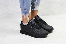 Подростковые демисезонные кроссовки Reebok,черные 40р, фото 3