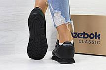 Подростковые демисезонные кроссовки Reebok,черные 40р, фото 2