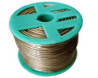 Трос металлополимерный в оплетке ПВХ 2.5 мм (катушка 200 метров) ПР 2.5