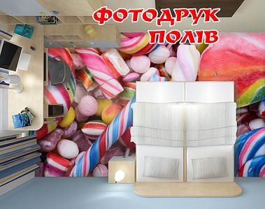 Наливна підлога з зображенням, 2х2м (будь-який розмір)