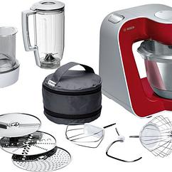 Кухонная машина Bosch MUM58720 1000 Вт Малиновый с серебристым (5383007400)