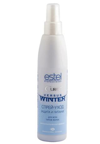 """Спрей-догляд для волосся захист та живлення """"Зимовий захист"""" Estel Professional Curex Versus Winter Spray"""