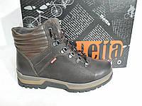 Зимние мужские кожаные ботинки DETTA бот, фото 1