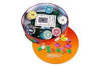 Набор для Игры в Покер Poker Chips 120 Фишек, фото 1
