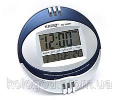 Настільні Цифрові Електронні Годинники Kadio KD-3806N