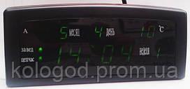 Настільні Електронні Годинники CX 909 Будильник