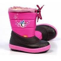 Теплые зимние сапоги для девочки Demar 24-25р - 16,5см;