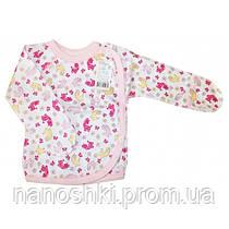 Ля-ля, Распашонка 1Т03 р.62 интерлок (розовый)