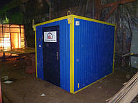 Бытовое помещение под склад размером 3,0 х 2,1 х 2,3 метра Складская Бытовка Вагончик строительный