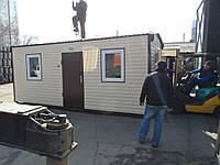 Бытовые помещение размером 6,0 х 2,5 метра Бытовка общего назначения Вагончик строительный, фото 1