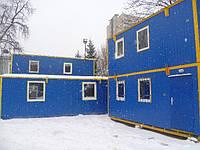 Бытовой модуль общего назначения Модульная Бытовка на 2 этажа Вагончик строительный, фото 1