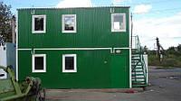 Бытовой модуль общего назначения Модульная Бытовка на 2 этажа Вагончик строительный