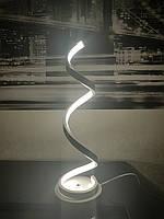 Современный LED торшер светильник в белом цвете , фото 1