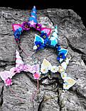 Обруч Єдиноріг Прикраса для волосся обруч єдинорога, фото 6