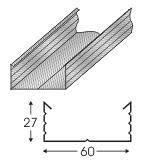 Профиль для гипсокартона CD 3 м (0,4)