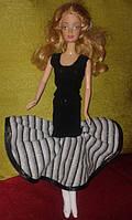 Нарядное платье для куклы типа Барби, для вечеринки