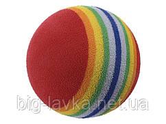 Мячь для животных Радуга игрушка