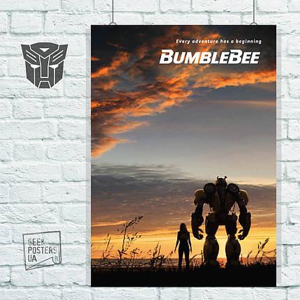 Постер BumbleBee, Бамблби (2018). Размер 60x42см (A2). Глянцевая бумага, фото 2