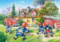 Пазлы castorland maxi 40 эл. Пожарная бригада, 025