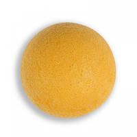 Губка Konjac конняку желтая для умывания, мягкого пиллинга и массажа