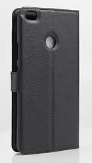 Чехол-книжка для Xiaomi Mi Max черный, фото 2