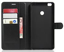 Чехол-книжка для Xiaomi Mi Max черный, фото 3