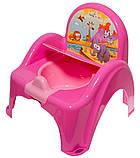 Горшок-стульчик Tega Safari SF-010 127 dark pink, фото 2