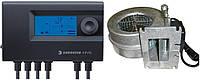 Контроллер + вентилятор для твердотопливных котлов EuroSter 11W для котлов