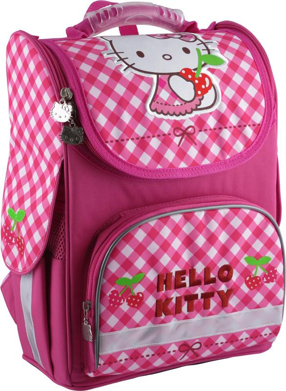 f8b00add3c68 Ранец школьный каркасный KITE 2014 Hello Kitty 501-2 (HK14-501-2K ...
