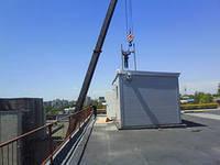 Крышная котельная 1000кВт с гарячим водоснабжением