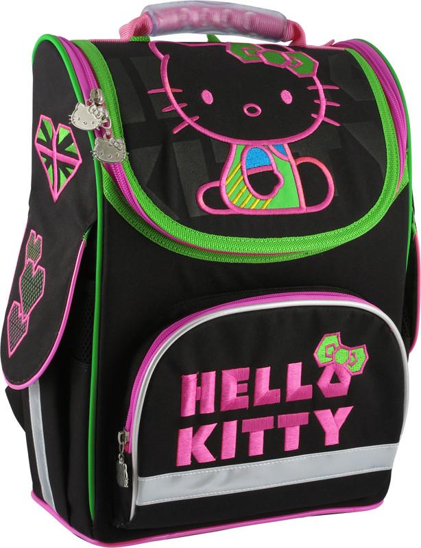 c99d96baec11 Ранец школьный каркасный KITE 2014 Hello Kitty 501-4 (HK14-501-4K ...