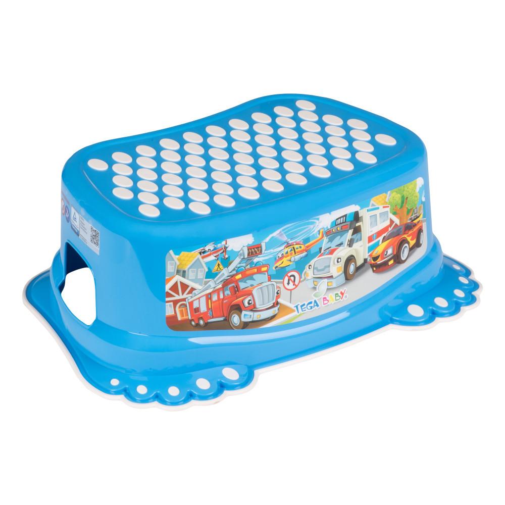 Подставка Tega Cars CS-006 нескользящая 120 blue