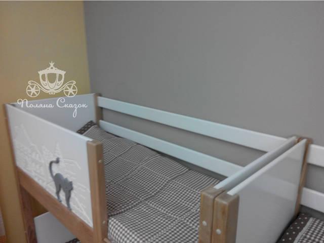 Высокие бортики делают кроватки безопасными.