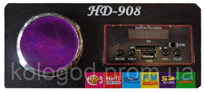 Портативна MP3 Колонка HD 908 USB FM am