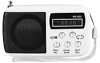 Портативная MP3 Колонка SPS WS 822 USB FM, фото 1