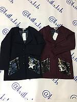 Пальто шерсть для девочки  размеры 134-158 см