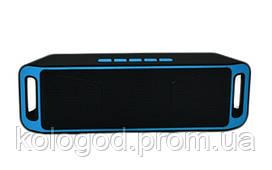 Портативная Аккумуляторная MP3 Колонка SPS SC 208 BT Bluetooth USB FM SD