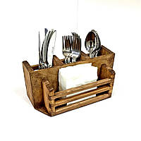 Подставка для столовых приборов Салиера капучино