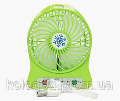 Портативний Настільний Міні Вентилятор Portable Mini Fan XSFS-01 USB