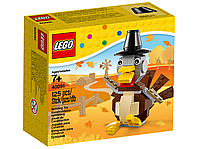 Lego Iconic Индейка на День Благодарения 40091