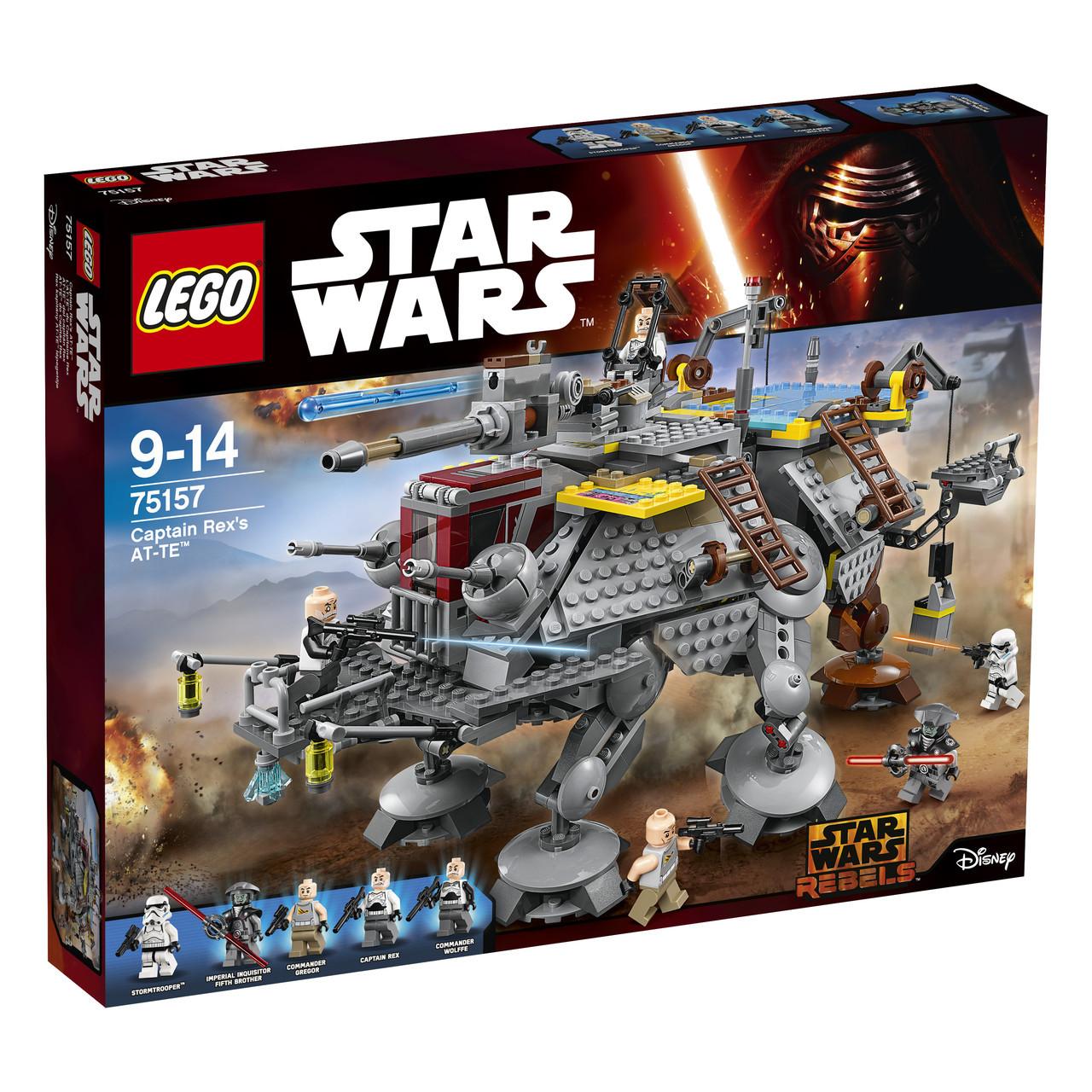 LEGO Star Wars Шагоход AT-TE Капитана Рекса 75157