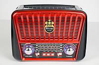 Радиоприемник Golon RX-456 Solar c Фонариком и Солнечной Панелью MP3 USB FM SD, фото 1